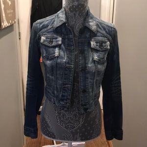 Express jean jacket !